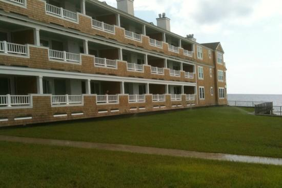 Bluegreen Vacations The Soundings, Ascend Resort Collection: Building 3 , We enjoyed a large deck on level 2.