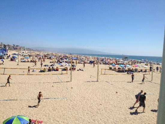 Manhattan Beach volleyball tournament