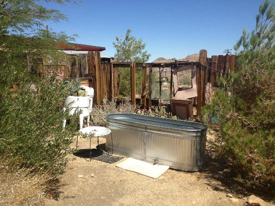 Desert Lily: The cowboy spa at the Biltmore Bunkhouse (was so great!)