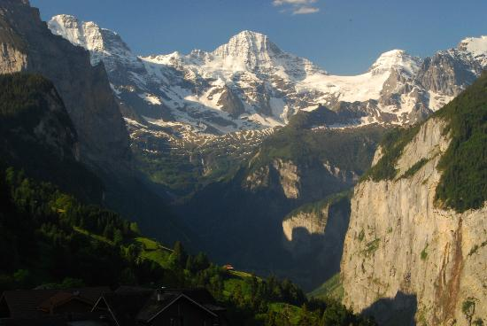 Hotel Edelweiss : View from Wengen