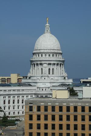 Hilton Madison Monona Terrace: View from Executive Lounge!