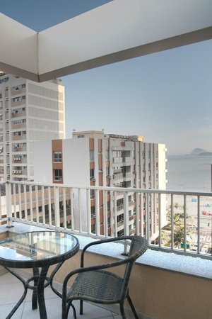 Ipanema Inn : Duplex Suite: Sea View from terrace