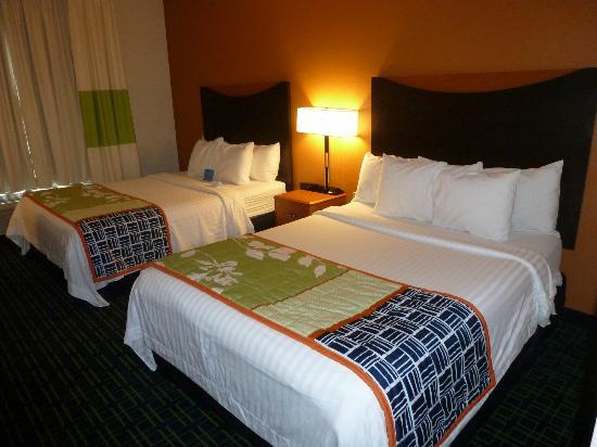 Fairfield Inn & Suites Memphis East/Galleria: The beds