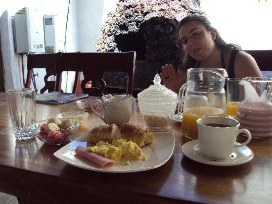La Gran Tortuga: desayuno abundante