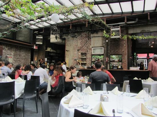 Outdoor Garden At Brunch Picture Of Revel New York City TripAdvisor