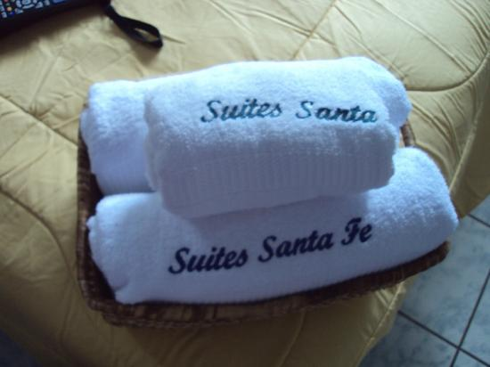 Hotel Santa Fe: Toallas