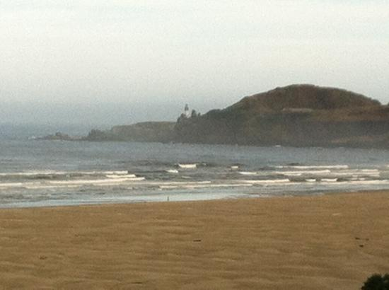 Best Western Agate Beach Inn: view of light house from our room