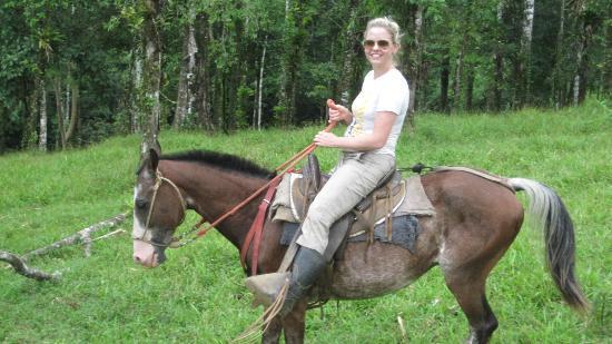 La Carolina Lodge: Riding Cocoa