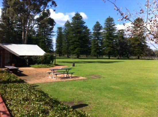 Houghton Cafe: View to Cellar Door from cafe