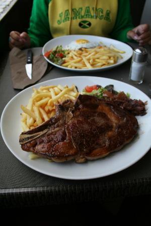 Brasserie Le Belvédère : BISTECCA DI TORO