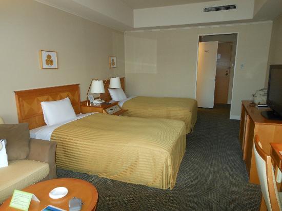 Towada Hotel : 新館のツインルーム。