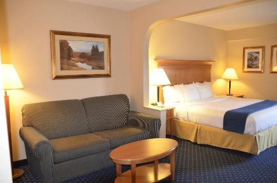 Holiday Inn Express Waynesboro - Rt. 340: Super spacious room with a sitting area