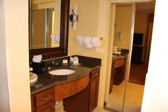 Homewood Suites Denver International Airport: Sink Area
