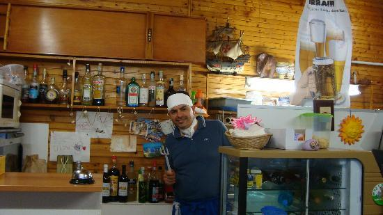 Villaggio del Sole : Nicola pronto per la spaghettata