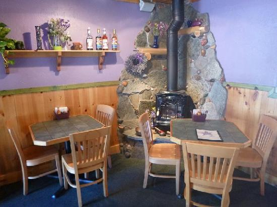 Simple Bliss Vegan Cafe: Relax in our new wood chairs as you enjoy our table games and enjoy your favorite Blissful creat
