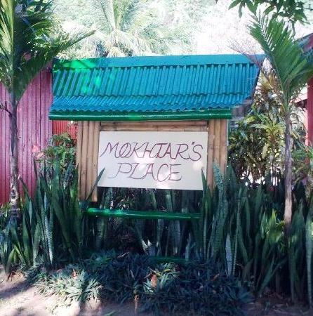 Mokhtar's Place: signboard