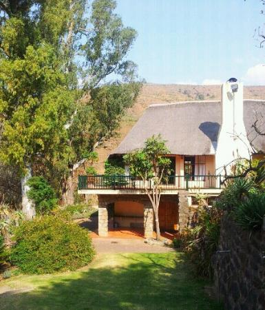 The Cavern Resort & Spa: our conference room(bottom) at The Cavern in the Drakensburg