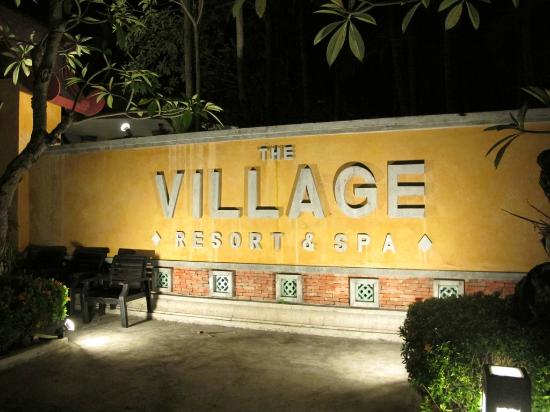 The Village Resort and Spa: Entrance