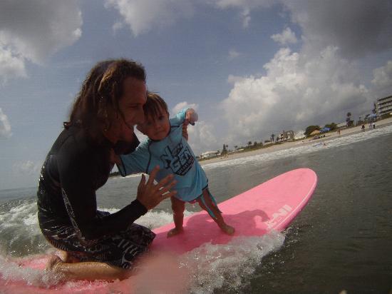 Nex Generation Surfing School: Bella surfs!