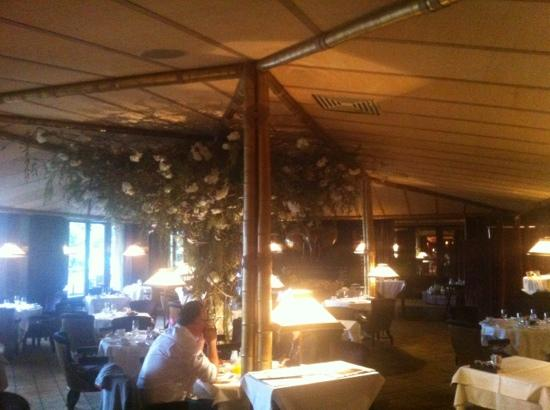 "La Reserve Geneve Hotel & Spa: Breakfast in the ""tent""..."