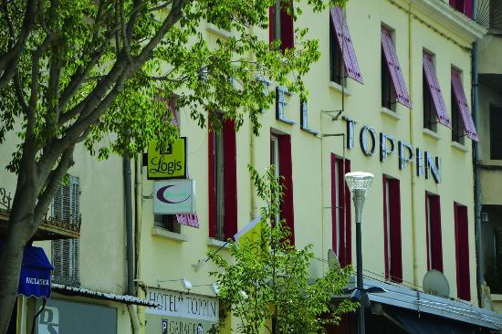 Hotel Toppin Logis et contact hotel : Facade