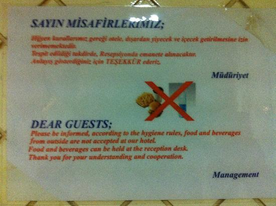 Hotel Policy Picture Of Bilem High Class Hotel