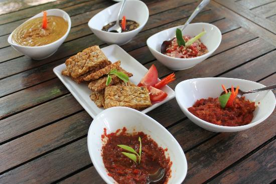 Villa Boreh Beach Resort and Spa Hotel: Cooking Class (Herstellung von Sambal)