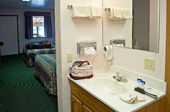 Dakota Cowboy Inn: angolo lavandino