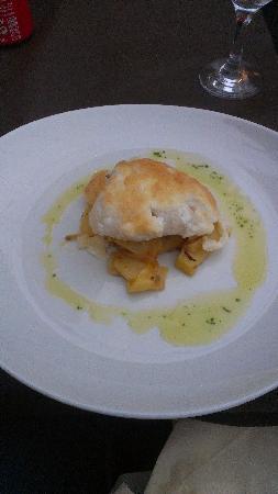 Sa Societat de Ca Na Fornera : yummy Cod with Aiolli crust