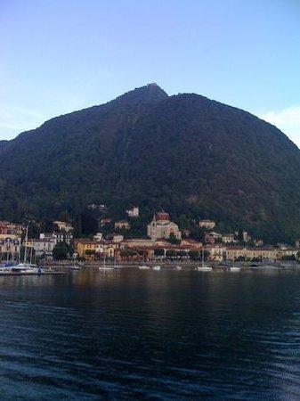Funivie del Lago Maggiore: panorama del monte.....da Laveno.