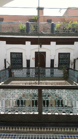 Riad El Mansour: View on the 1st floor.