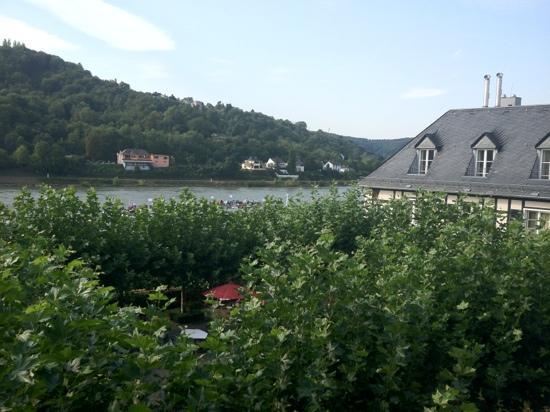 Rheinhotel Schulz: Blick aus meinem Zimmer