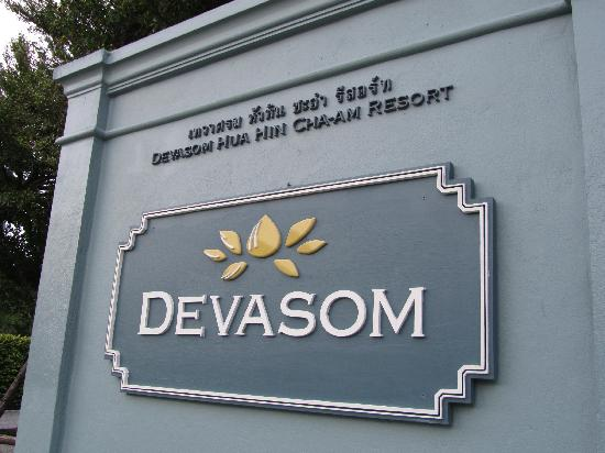 Devasom Hua Hin Resort: Main entrance