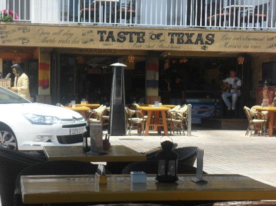 Taste of Texas: Front of restaurant