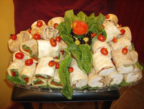 Big Dave's Bagels & Deli: Wrap Platter