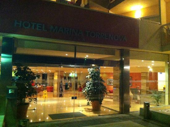 Hotel Marina Torrenova: Reception