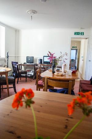 The Old Bank House: eating room
