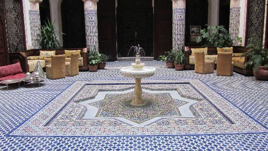 Riad Salam Fes: View Patio