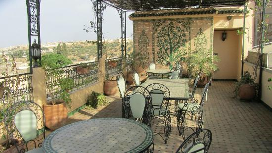 Riad Salam Fes: View roof terrace