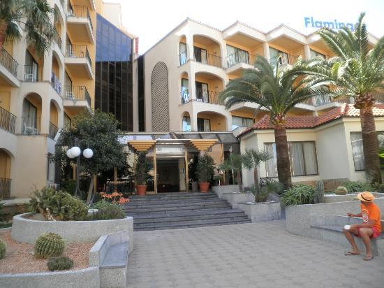 Myseahouse Flamingo: Der Eingang zum Flamingo