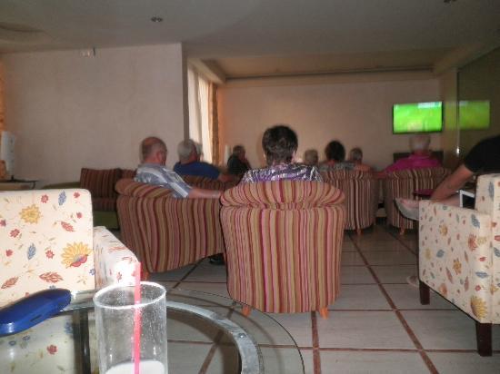 Myseahouse Flamingo : Fußball wurde auch geschaut