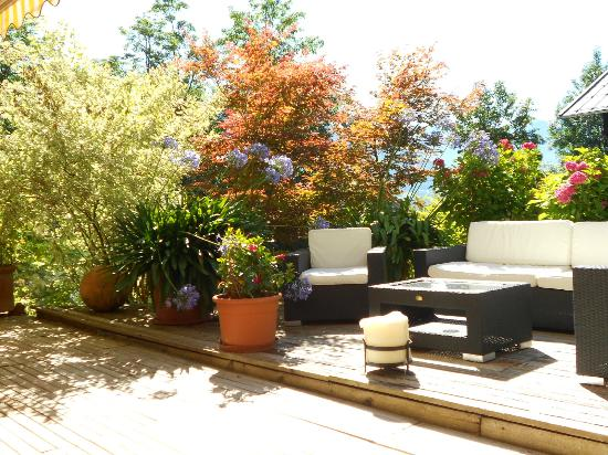 Sporthotel Alpin: Terrasse ensoleillée