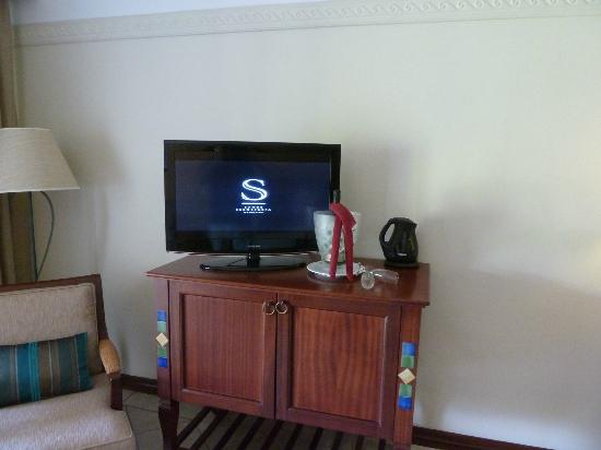 Sands Suites Resort & Spa: Great Flat Screen TV
