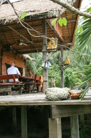 Wakeboarding Thailand Camp: the camp dining and social area