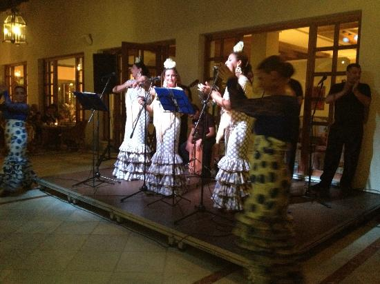 Iberostar Andalucia Playa: Espectaculo de flamenco, para mi el mejor
