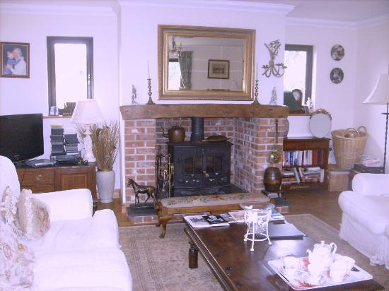 Bosvean House: Sitting room