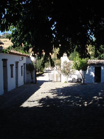 Hotel El Horcajo: binnenplaats hotel