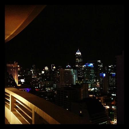 Fraser Suites Sukhumvit: La vista dalla mia stanza.