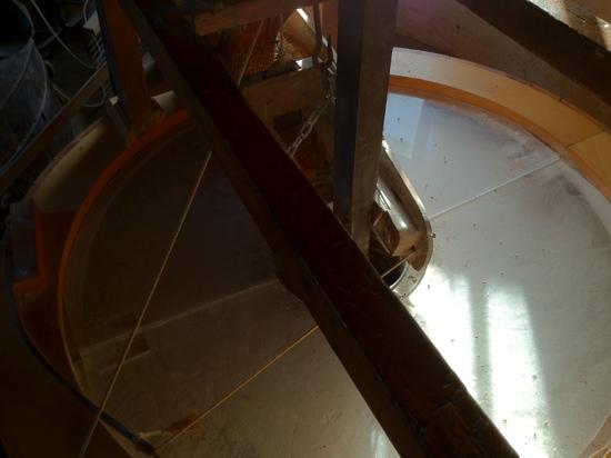 Skidby Windmill: mill stone