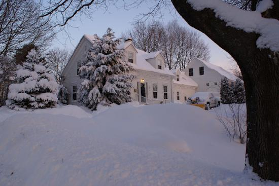 Maple Hill Bed and Breakfast: Winter